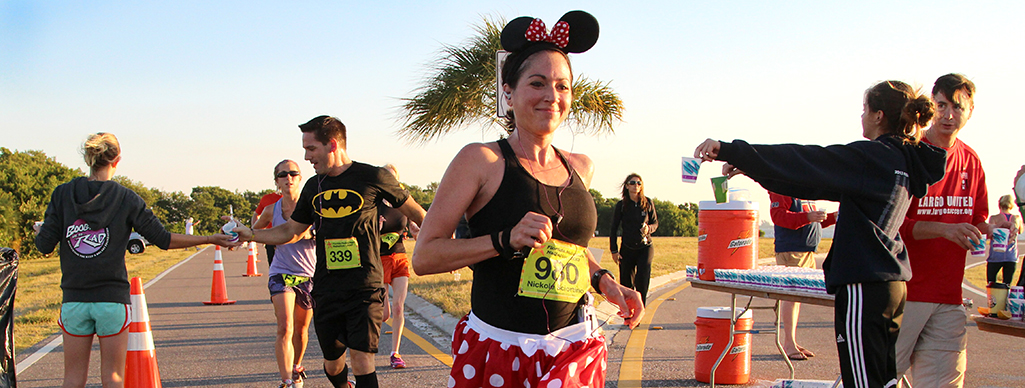Volunteer at Florida Halloween Halfathon, 10K & 5K