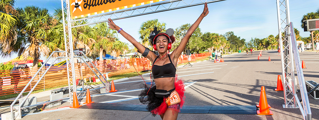 Florida Halloween Halfathon Finisher